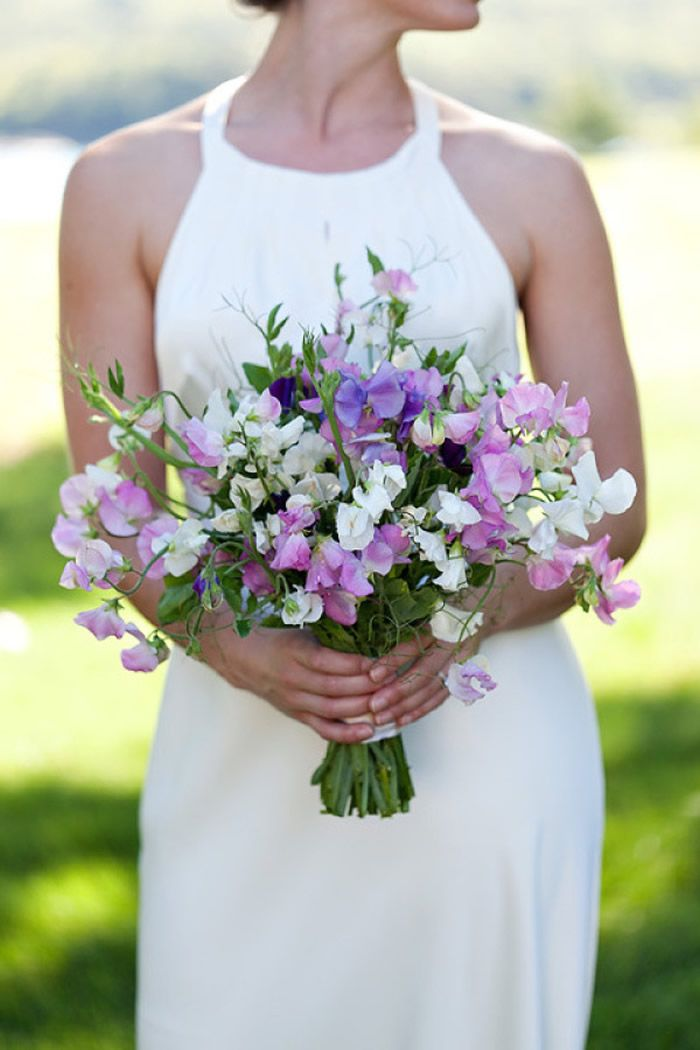 Image result for sweet pea wedding flowers