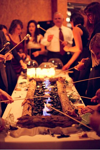 S'mores Bar-  Unique Wedding Bars- Alcoholic, Appetizer, and Desert Bars on earlyivy.wordpress.com
