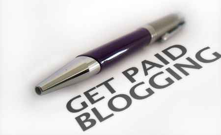 get paid to blog
