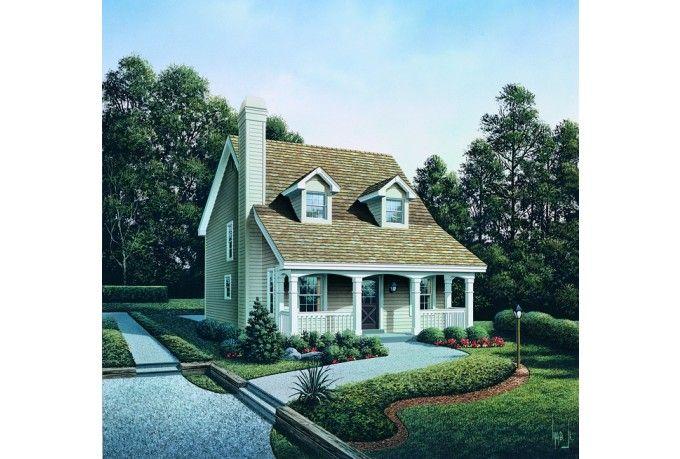 Cape Cod Cottage House Plan