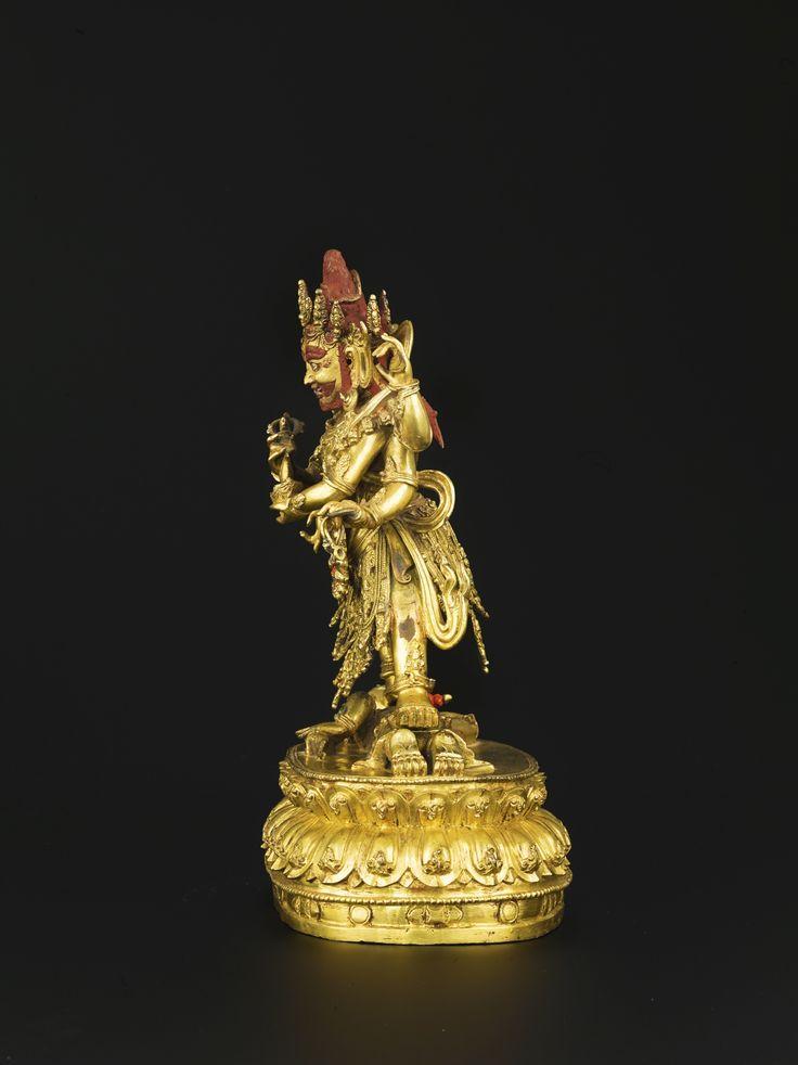 A GILT-BRONZE FIGURE OF MAHAKALA<br>CHINA, MING DYNASTY, 16TH CENTURY | Lot | Sotheby's