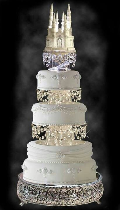 My Next Cake!  ;-) #bridal #wedding #cake #castle