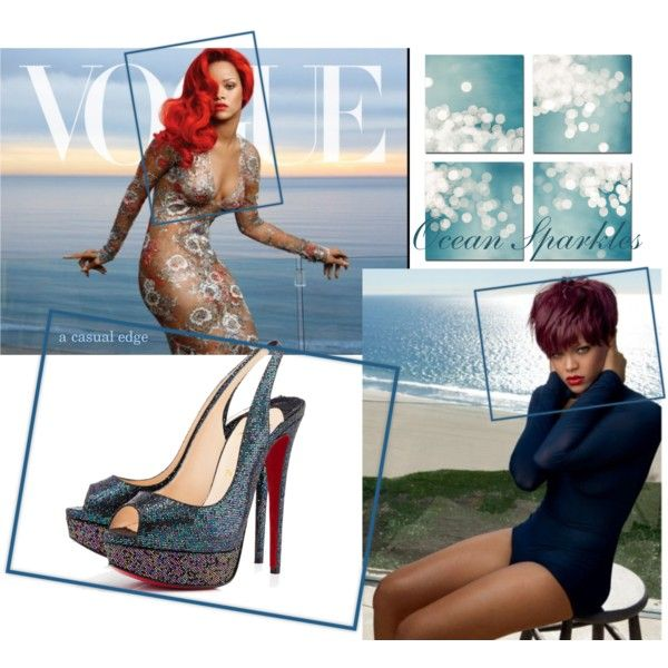 """""""Ocean Sparkles"""" by astylemave on Polyvore"""