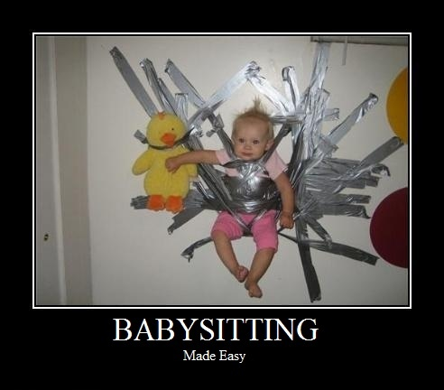Funny Images For Babysitting