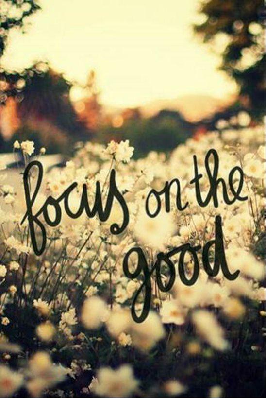 What you focus on will grow. #AttitudeofGratitude