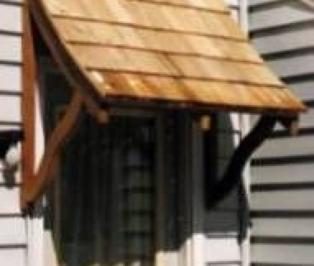 Wood Awning Plans