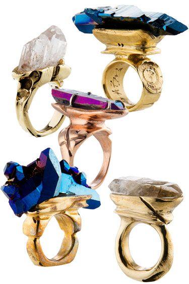 Handgjorda smycken från Andy Lifshutz, Bushwick, Brooklyn - Harpers Bazaar # bohochic