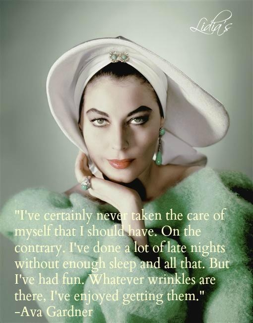 Love that Ava Gardner