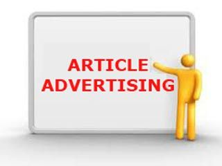 article advertising