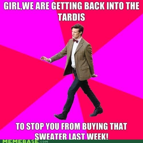 I've pinned it before, and I will pin it again!! One of the funniest Doctor Who memes!! <3 <3
