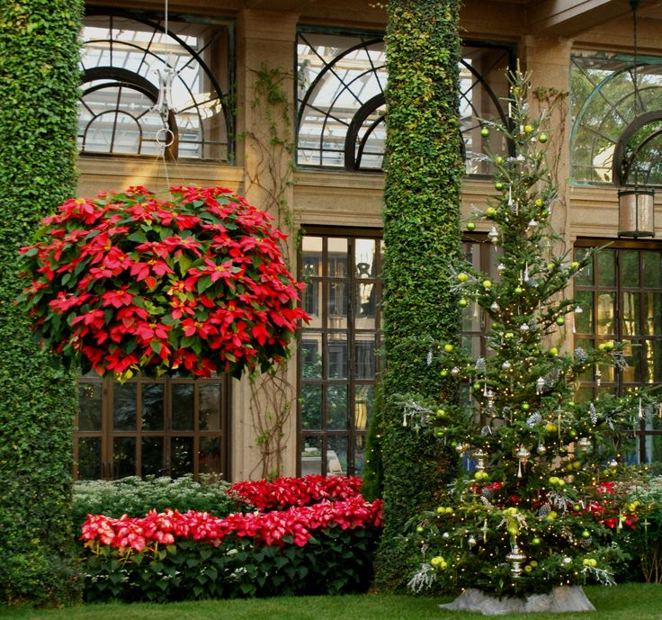 Christmas at #Longwood Gardens, #Kennett Square, PA