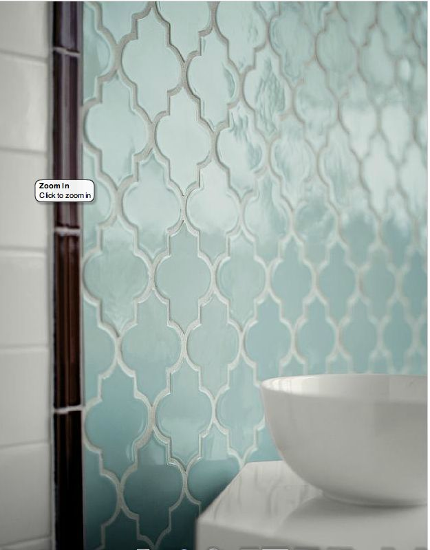 Love this morrocan tile