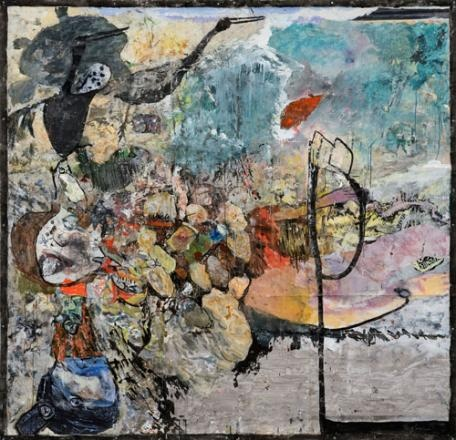 London W1X - Terry Setch latest show showing recent works at Cork Street