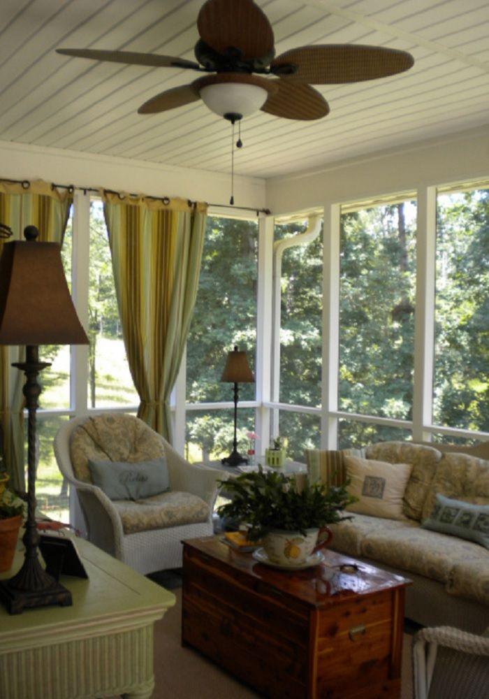Credit: TLC Decorating Ideas | Enclosed Porches/Sun Rooms ... on Inclosed Patio Ideas  id=71502
