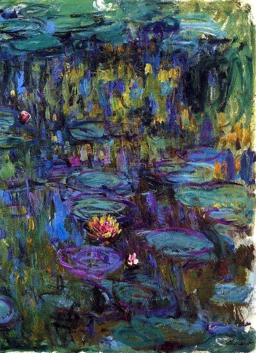 Claude Monet ~ Water lilies
