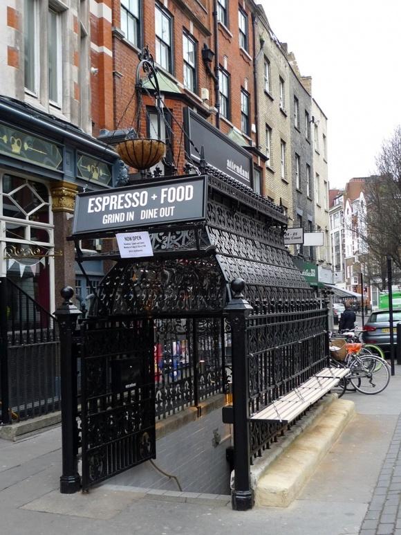 The Attendant Cafe, Foley Street, London
