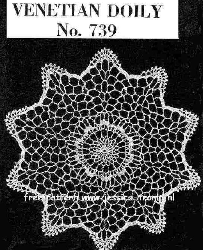 doily free vintage crochet doilies patterns