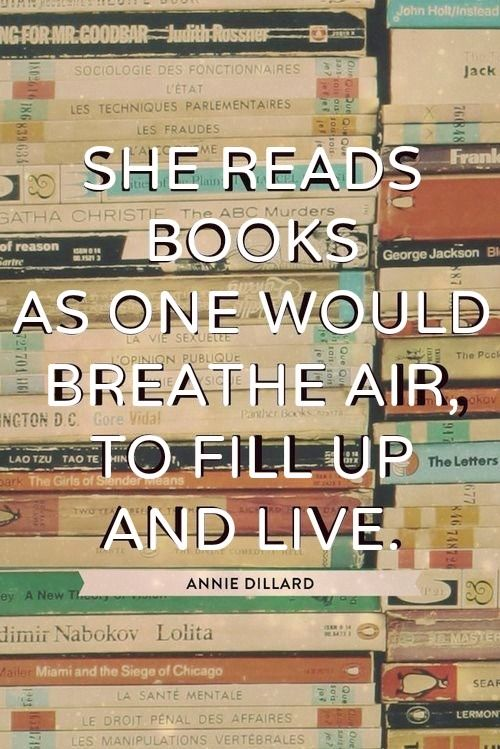 Why I read: in defense of bookworms everywhere