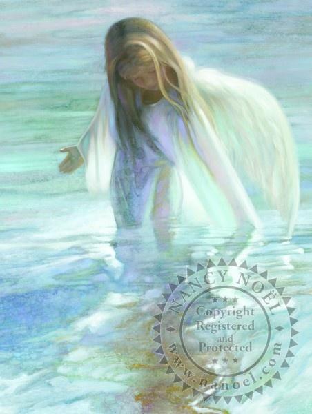 """Nancy Noel:  """"Angel of the Lake"""""""
