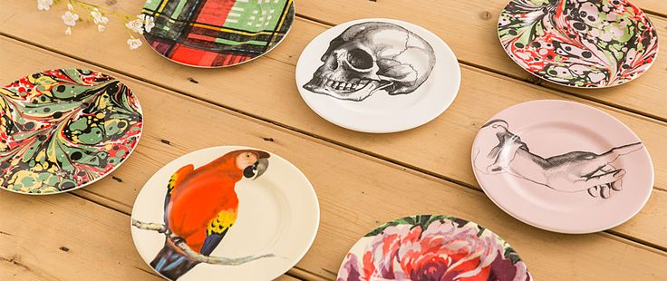 Bone China Tea Plates From £11.50