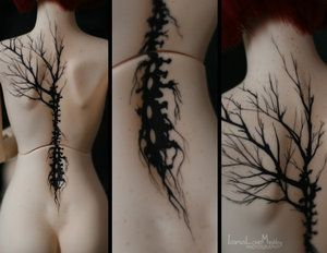 negative space tattoo - Google Search