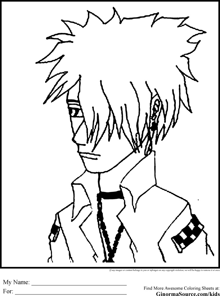 emo coloring pages  coloring pages  pinterest