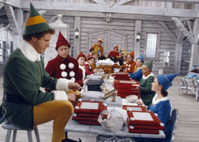 Buddy the Elf makes me smile