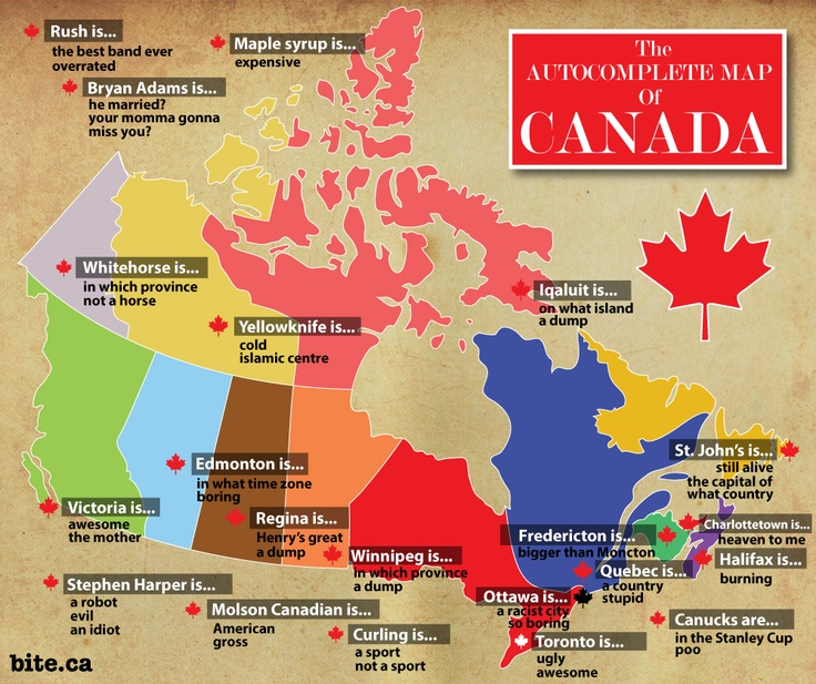Complete Map Of Canada.Map O Canada