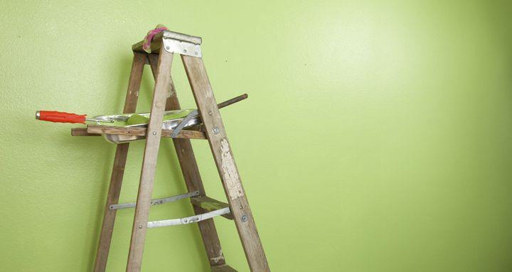 pintar el techo materiales