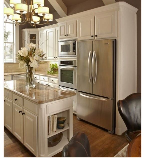 wall oven next to fridge brick bungalow pinterest on wall ovens id=87846