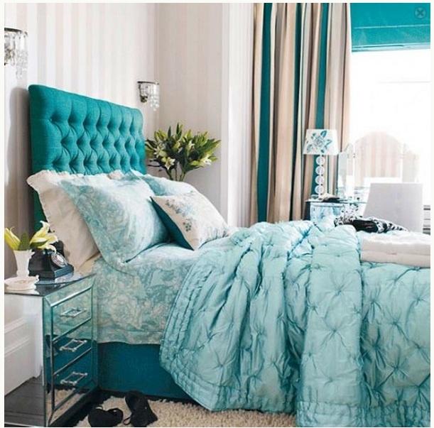 Jak Zrobić Sypialnię W Kolorze Turkusowym Dużo Pomysłów Na