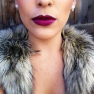 YSL Wine Lipstick
