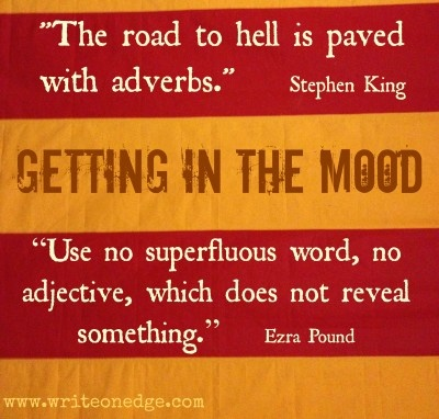 Adjectives, Adverbs and Setting the Scene