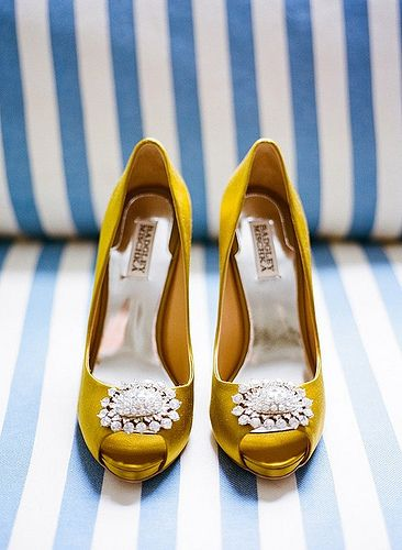 mustard shoes, #wedding #shoes