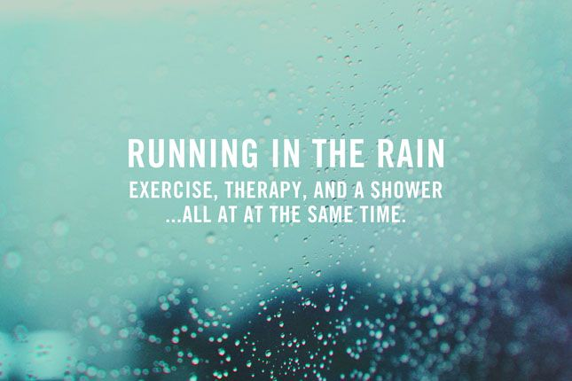 Running in the rain. http://blog.swell.com/SWELLivin-Rain-Running