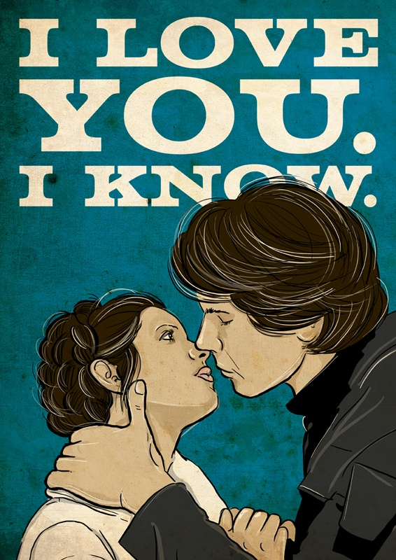 Download i love you. i know. | Star Wars iPhone Backgrounds | Pinterest