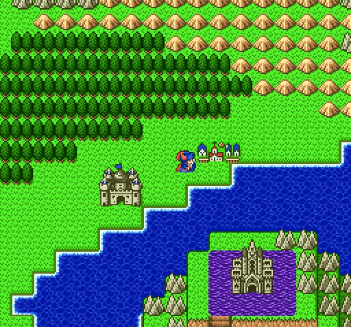 Dragon Quest 1....Just as good as Final Fantasy ever was (back in the day anyway)