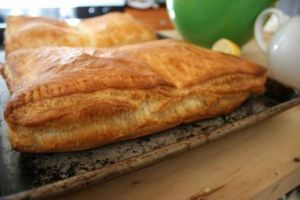 Sunday Brunch: Scrambled Eggs in Puff Pastry
