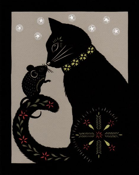 Grimm Brothers: The Cat & Mouse In Partnership by ruralpearl, via Flickr