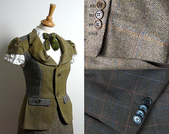 Old suits refashion.