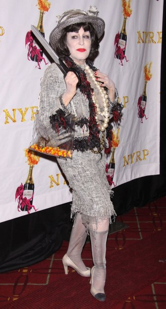 Stars Celebrate Halloween in Costume!: Bette Midler was the ghost of Coco Chanel at the NYRP Halloween Benefit Gala on Wednesday.