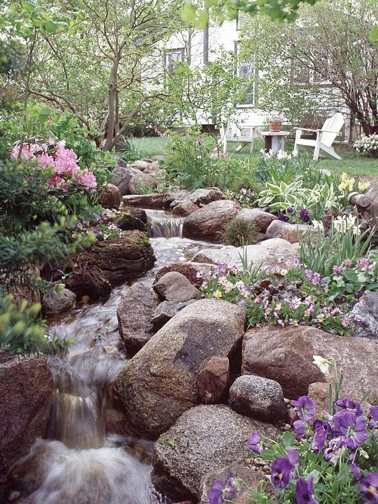 Dream Stream garden-ideas   landscaping   Pinterest on Backyard Stream Ideas id=54677