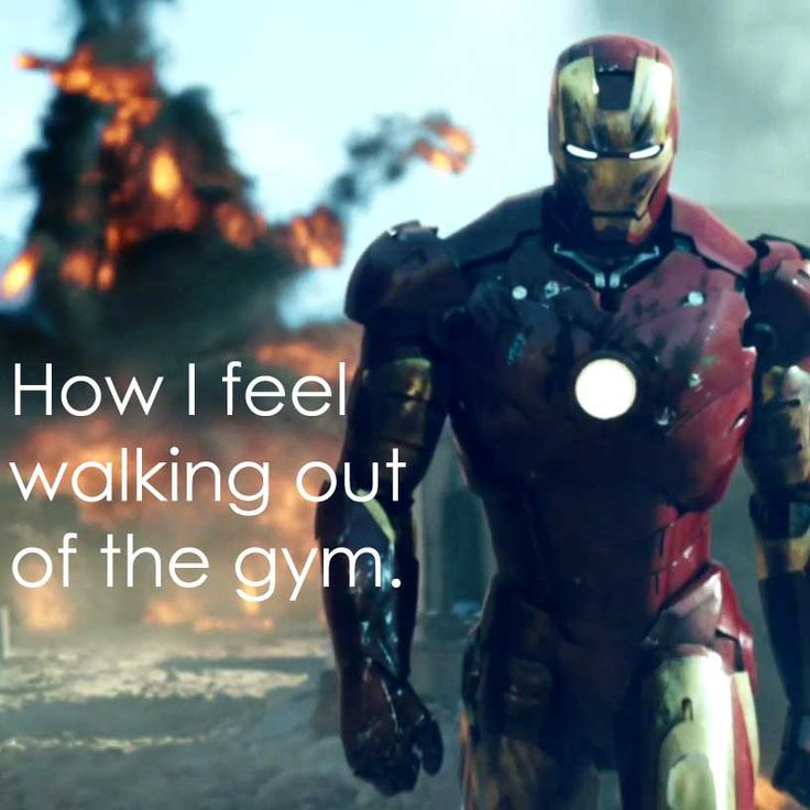 How I feel walking out of the gym