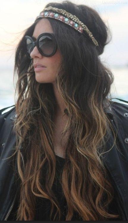 sunglasses, long hair, headband<3<3<3