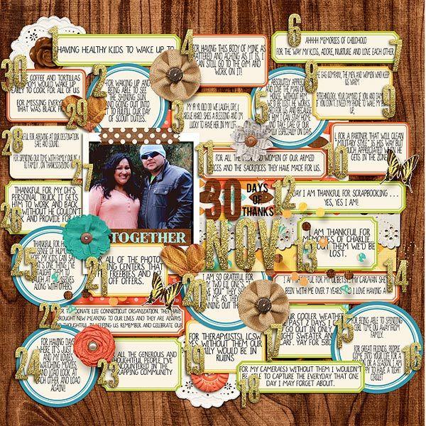 30 Days of Thanks - Scrapbook.com