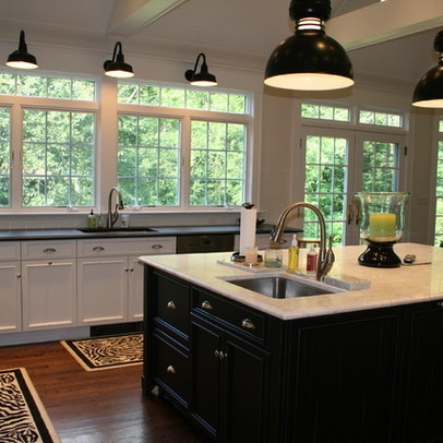 Gooseneck Lighting Design Ideas, Pictures, Remodel, and Decor - page 2