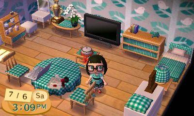 Simple animal crossing room (:   Animal X-ing   Pinterest on Animal Crossing Living Room Ideas  id=13247