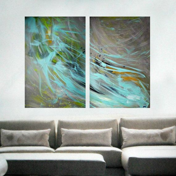 extra large wall art original large abstract painting on large wall art id=53163
