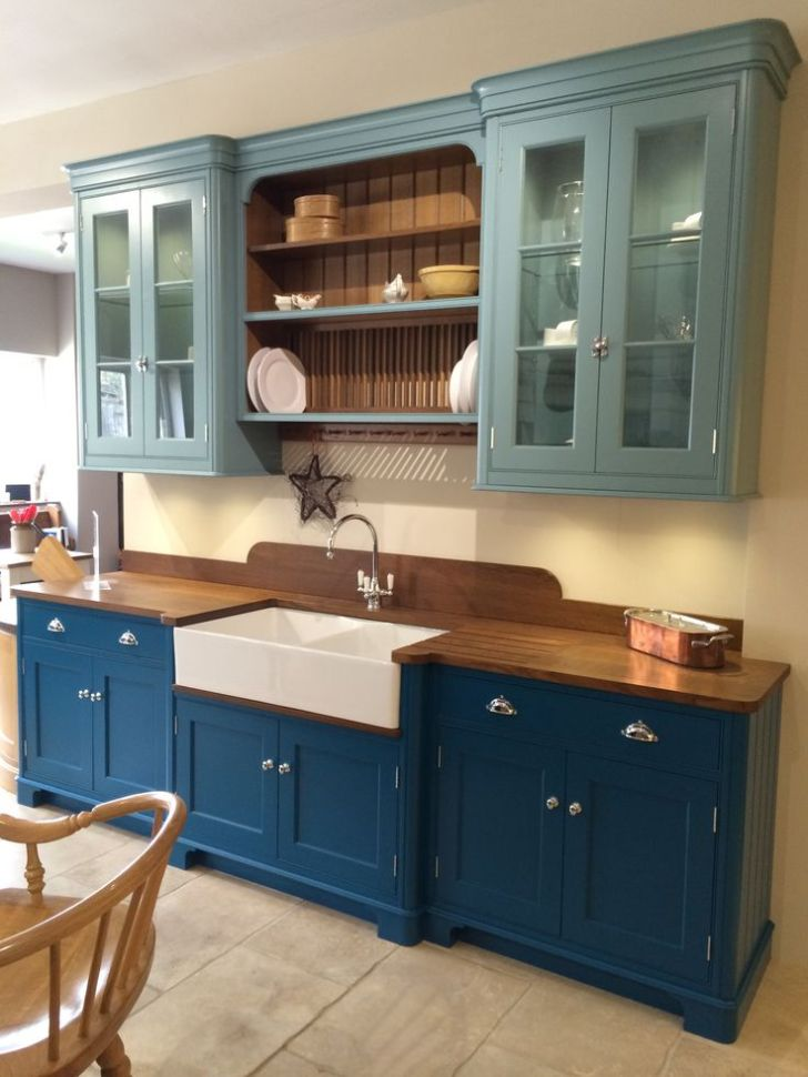 Teal Kitchen Cabinets Baker Beautiful Kitchens Pintere