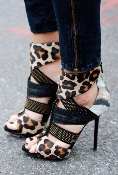 Leopard Heels Design works No.1512 |2013 Fashion High Heels|